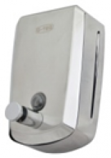 Дозатор для жидкого мыла металл 0,8л. G-teq 8608 Lux